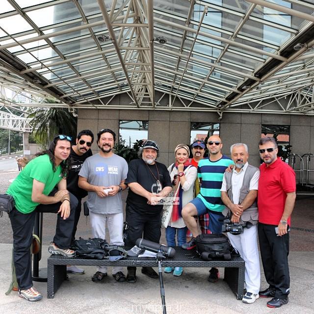 عکس های ناب از بازیگران اعزامی ایران در برزیل  2014