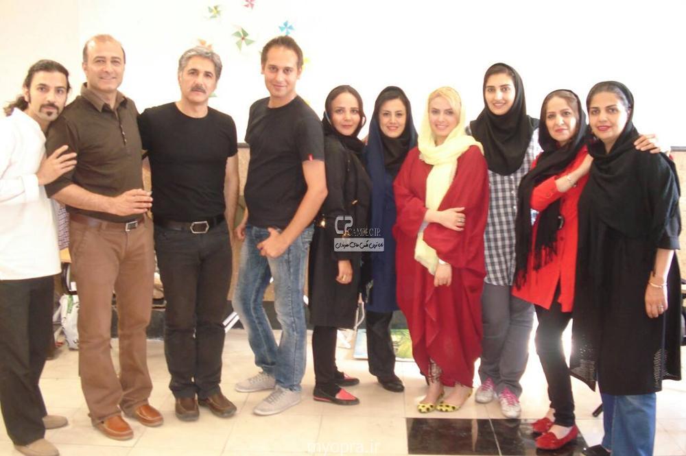 عکس های شخصی سولماز آقمقانی بازیگر سه در چهار تیر 93