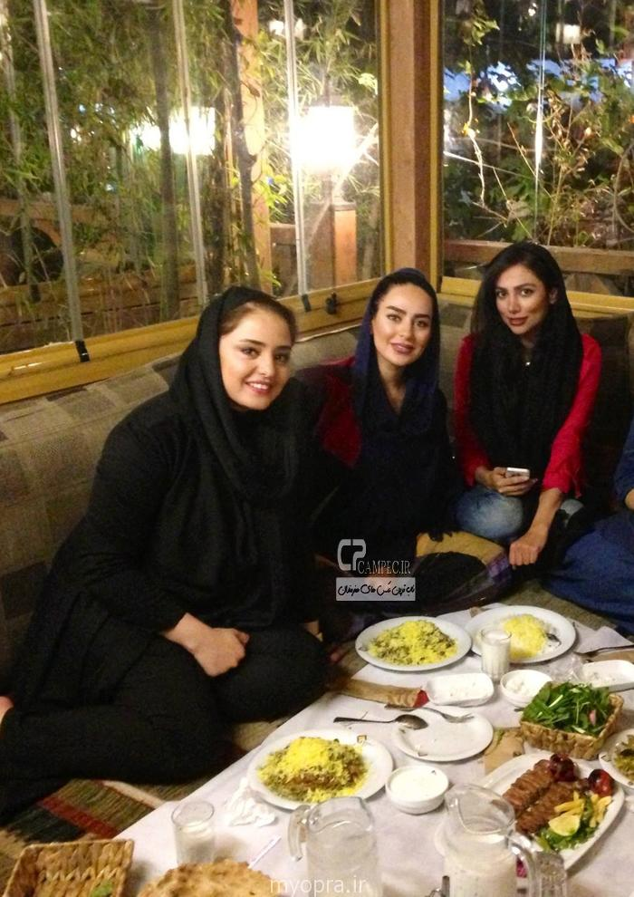 سمانه پاکدل و نرگس محمدی