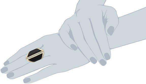 جدیدترین انگشتر دخترانه و زنانه نگین بزرگ