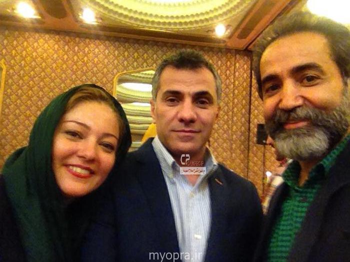 جدید ترین عکس های بازیگران ایرانی در کنار همسرانشان 93