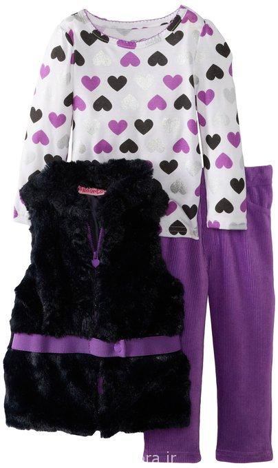 لباس پاییزه و زمستانه دخترانه 93