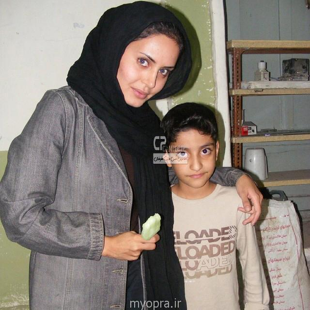 عکس جدید الناز شاک دوست اول مهر 93