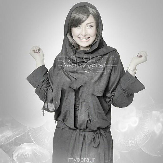 تازه ترین عکس های نیوشا ضیغمی مهر 93