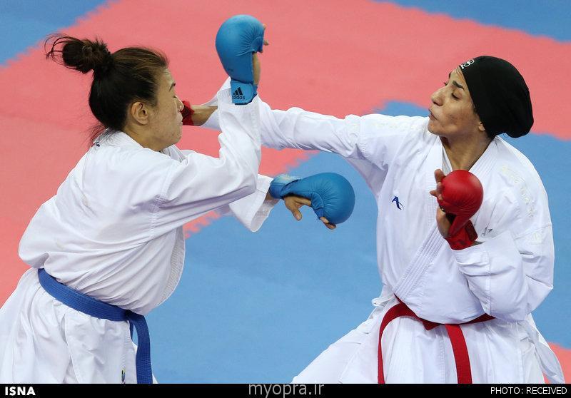 حمیده عباسعلی کاراته بانوان
