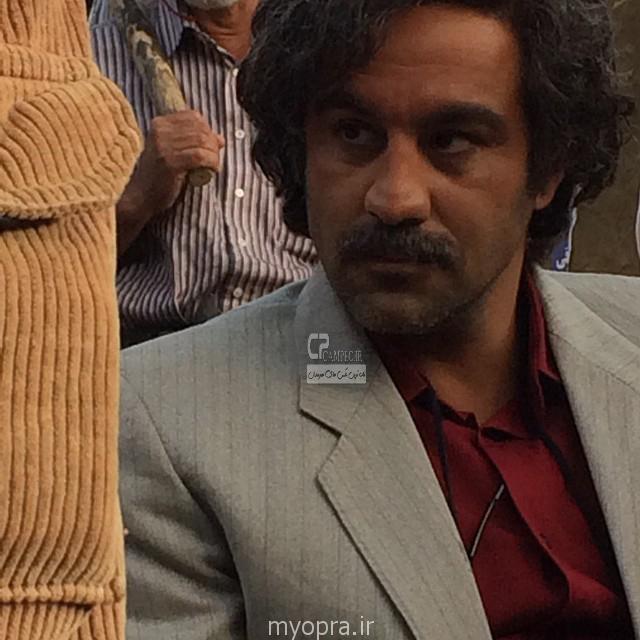 محسن تنابنده در پشت صحنه ایران برگر