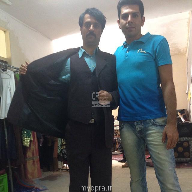 احمد مهران فر در پشت صحنه ایران برگر