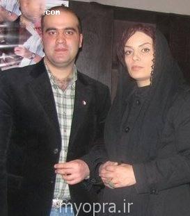 سارا خوئینی ها و همسرش