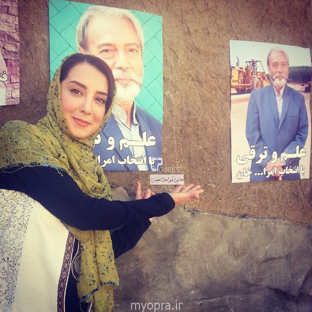سحر جعفری جوزانی در پشت صحنه ایران برگر