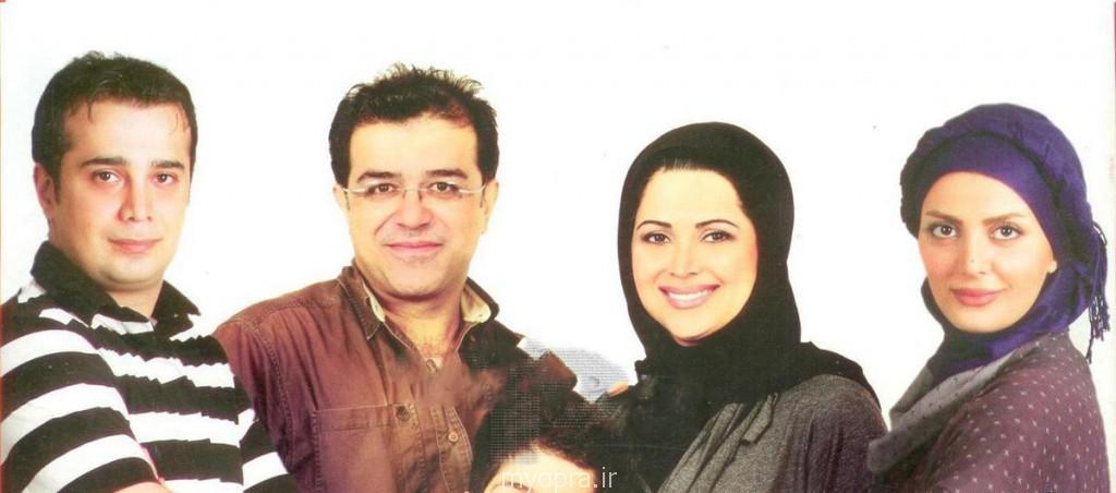 سپند امیر سلیمانی و همسرش مارال اراسته-کمند امیر سلیمانی و همسرش