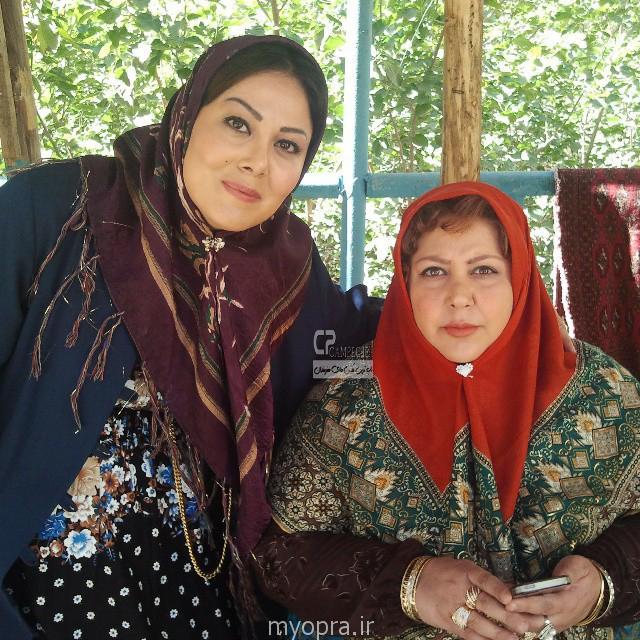 شهره لرستانی در پشت صحنه ایران برگر