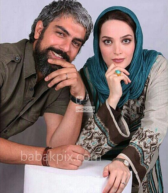 عکس جدید بهنوش طباطبایی و همسرش
