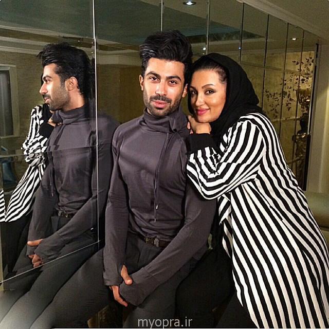 عکس های خصوصی روناک یونسی و همسرش