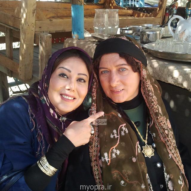 فریبا متخصص در پشت صحنه ایران برگر