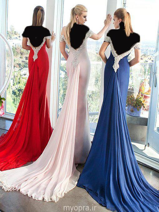 لباس مجلسی بلند زنانه 2015