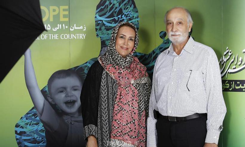محمود پاک نیت و مهوش صبر کن همسرش