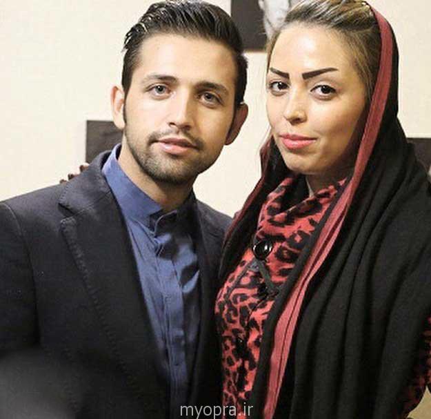محسن افشانی در کنار خواهرش