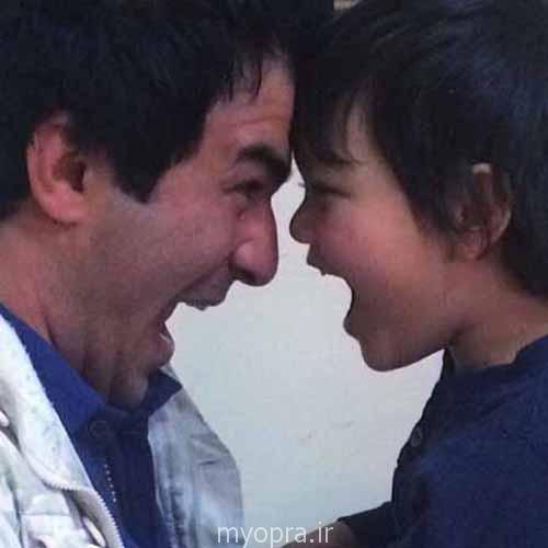 مجید صالحی و پسرش