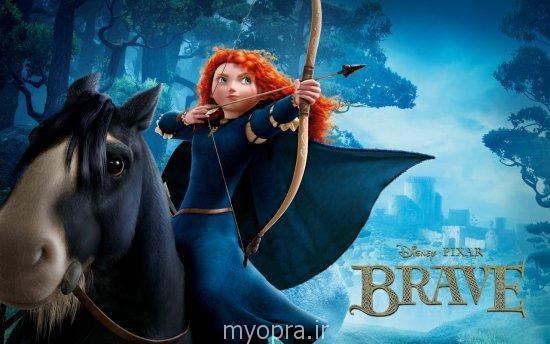 دختر شجاع مو قرمز