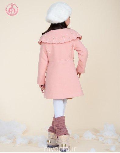 ست پالتو و کلاه دختر بچه