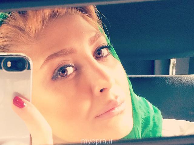 عکس مریم معصومی پشت صحنه فیلم