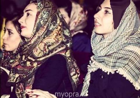 عکس کمیاب هانیه توسلی در کنار خواهرش