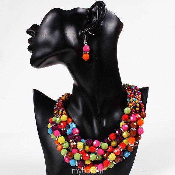 نیم ست جواهرات دخترانه  و زنانه 2015