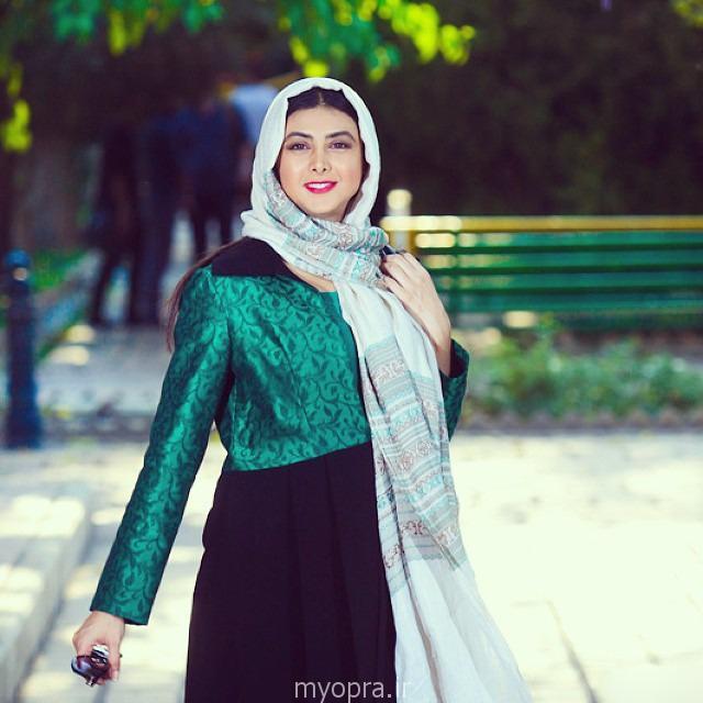 آزاده صمدی در آذر 93