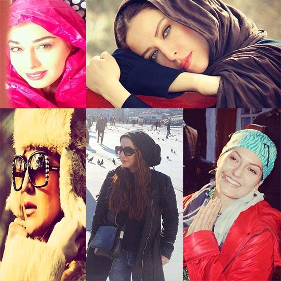 عکس های جدید از  بازیگران زن ایرانی دی 93