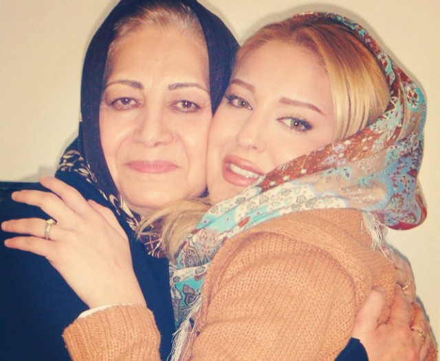 عکس شیما محمدی و مادرش
