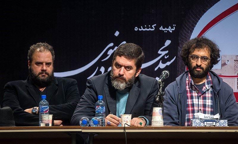 بهروز شعیبی(کارگردان), سید محمود رضوی (تهیه کننده) و هومن برق نورد