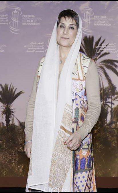 فاطمه معتمد آریا در فستیوال مراکش