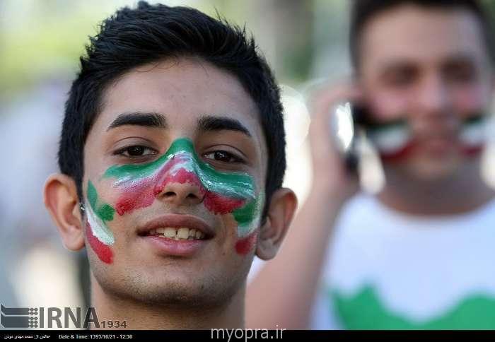 تماشاگران ایرانی در ملبورن جام ملت های آسیا 2015