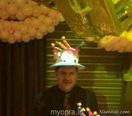 "جشن تولد ""نورا"" دختر علی دایی  دی ماه 93"