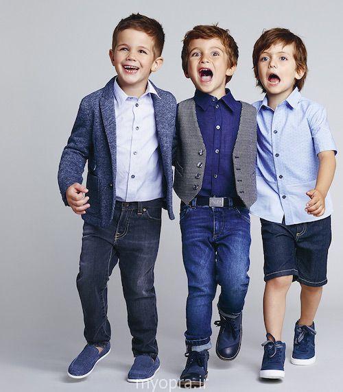 جدیدترین ست  لباس پسر بچه ها سال 94