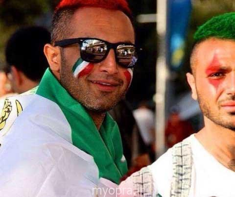 تماشاگران ایرانی و برد ایران در سیدنی استرالیا