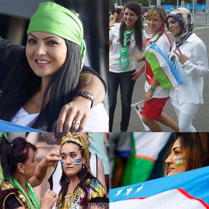 عکس جالب تماشاگران ازبکستان و کره جنوبی استرالیا 2015 ( http://www.oojal.rzb.ir/post/1556)
