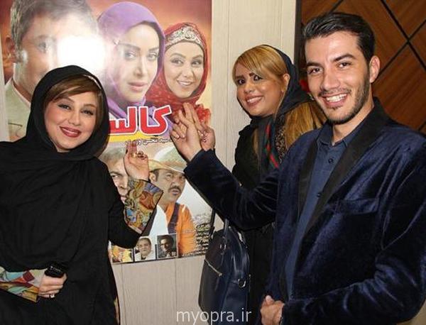 بهنوش بختیاری بازیگران زن ایرانی بهمن 93