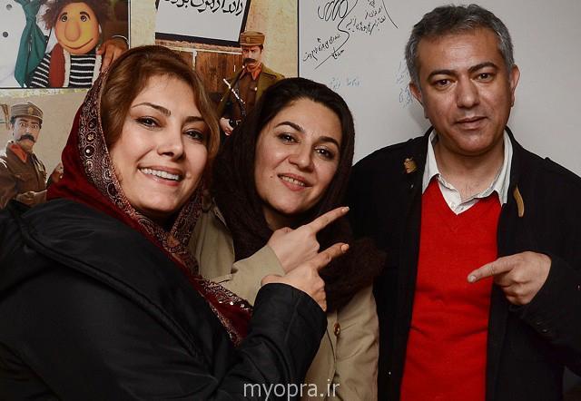 لادن طباطبایی بازیگران زن ایرانی بهمن 93