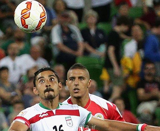 تصاویر  زیبا و دیدنی از شکار لحظه ها بازی ایران جام  آسیا