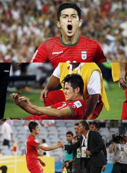 عکس بازی ایران قطر سیدنی استرالیا