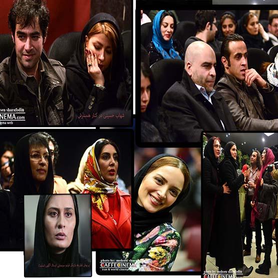 """عکس های بازیگران مشهور سینما در افتتاحیه """"ارسال آگهی تسلیت """""""