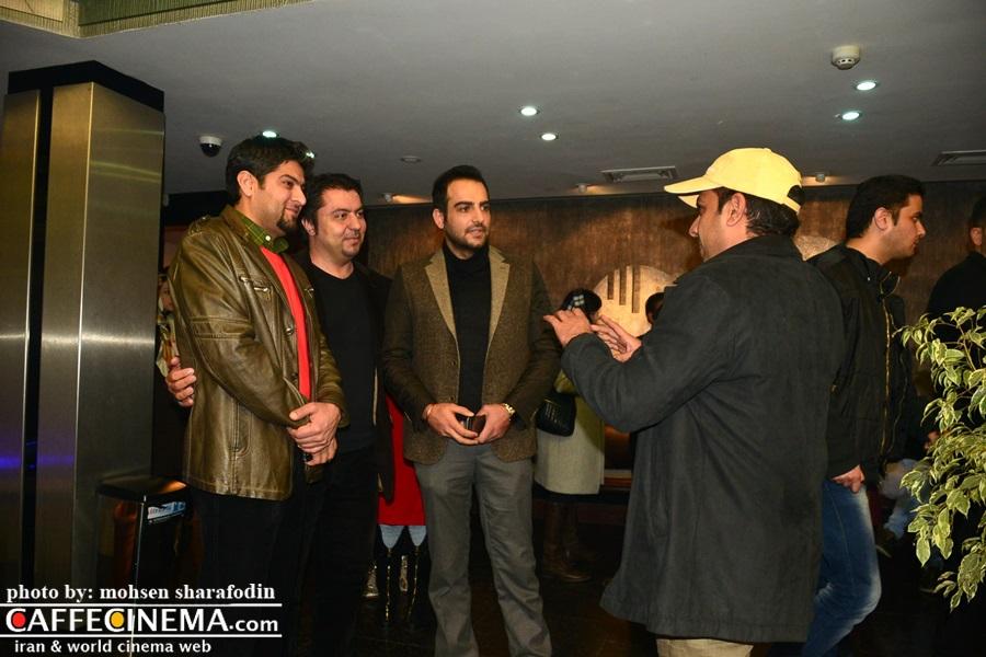 بازیگران مشهور سینما در افتتاحیه ارسال آگهی تسلیت