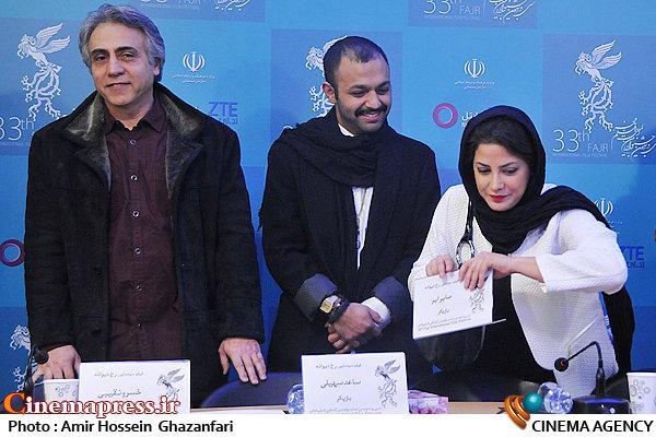 عکس بازیگران فیلم رخ دیوانه در جشنواره فیلم فجر 93