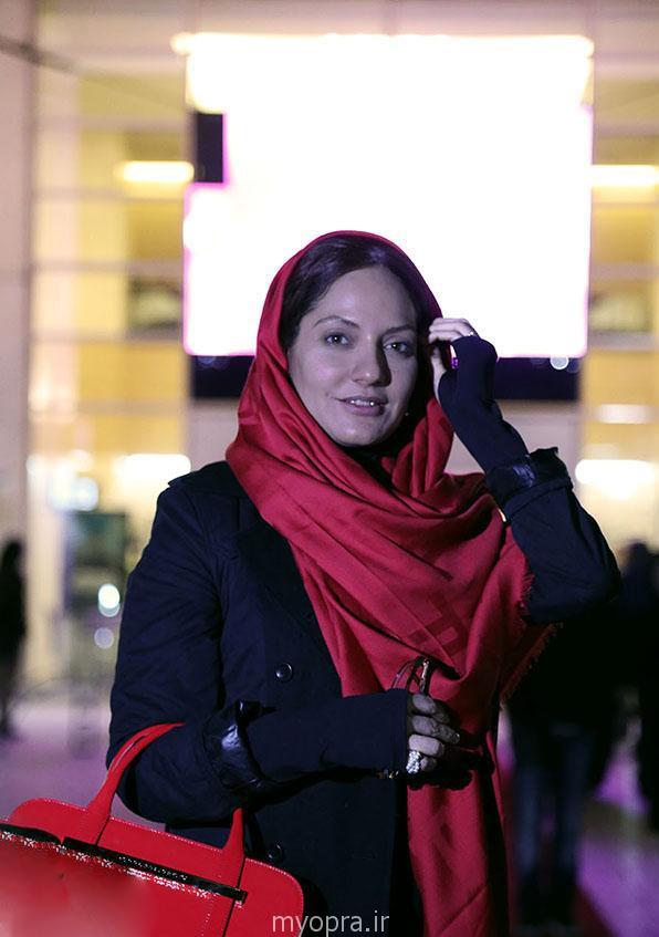 عکس های مهناز افشار جشنواره فجر 33