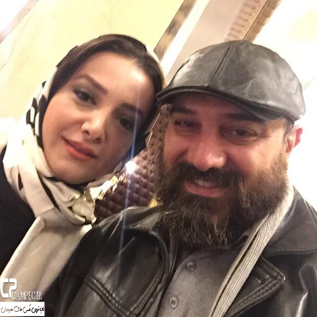 بازیگران و همسرانشان اسفند 93