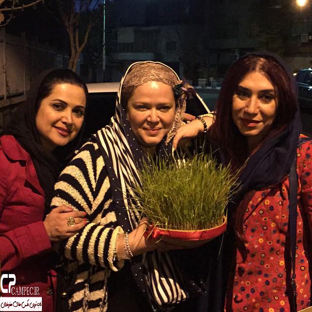 عکس های بازیگران ایرانی در روز سیزده بدر ۹۴