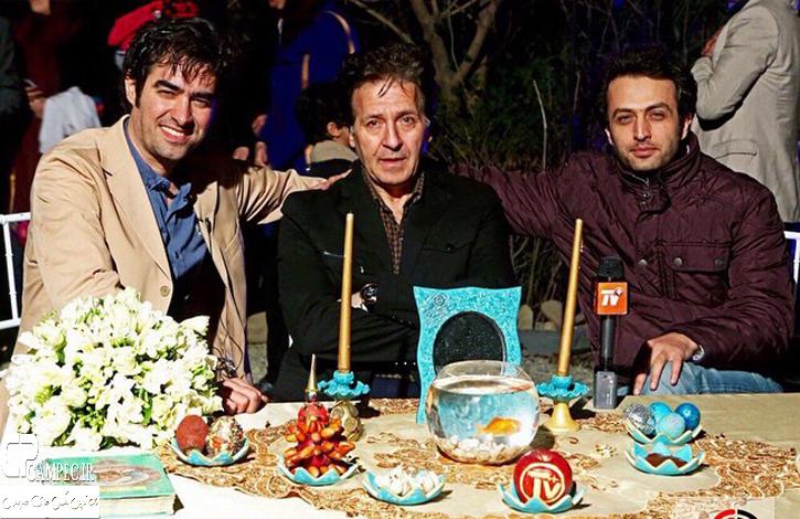عکس های بازیگران در کنار هفت سین سال  94