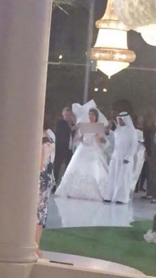 توزیع الماس بین میهمانان  به عنوان هدیه در عروسی