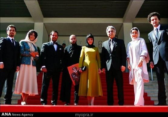 عکسهای جدید بازیگران ایرانی در جشنواره فیلم کن